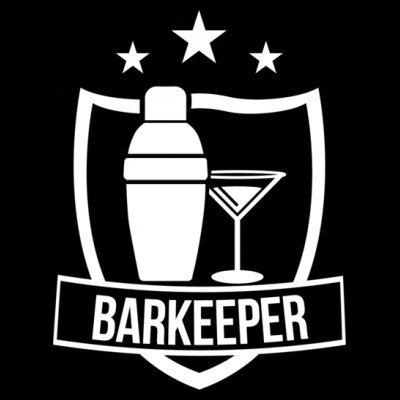 Sudadera con capucha de mujer Barkeeper Star by Shirtcity Negro
