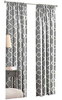 4e8ab0df40a Amazon.com  Abri White Crushed Sheer Door Curtain Panel  Home   Kitchen