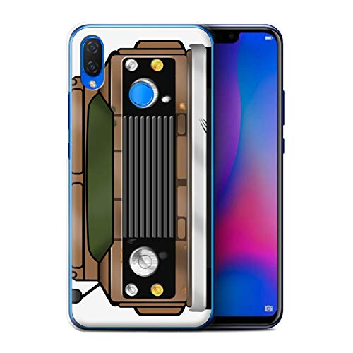 - eSwish Phone Case/Cover for Huawei P Smart Plus/Nova 3i / Rust Barn Find Design/Classic 4x4 Defender Collection
