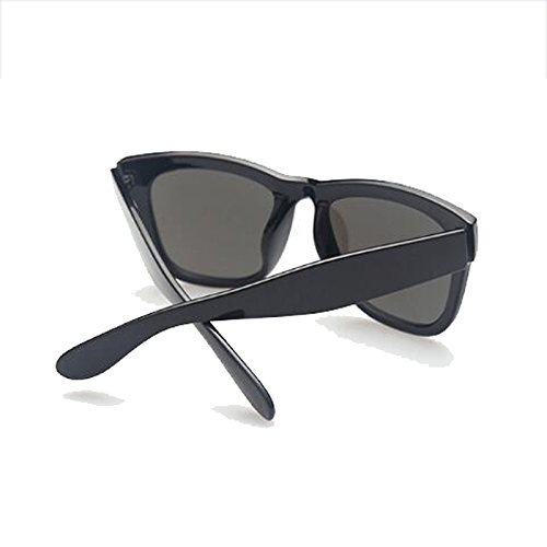 Glare Gafas Sol Square UV de Color Color Driver Polarizer Femeninas HLMMM Drive The UVB Black Black Film miopes Frame Gafas con Box Gafas Anti Sol The Moolo Hombres frame mercury black de UVA Retro qt07Uw
