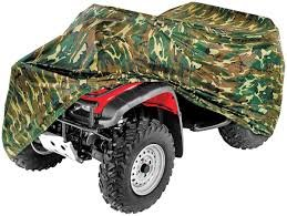 (HEAVY DUTY 420 DENIER CAMO COLOR WATERPROOF ATV COVER FITS UP TO 100