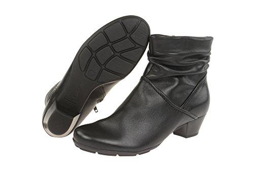 Gabor 55-637 Comfort Shoes - Botines de cuero mujer negro