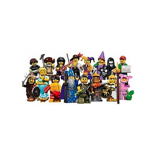 Sealed Box of 60 Packs Lego Simpsons Mini-Figures