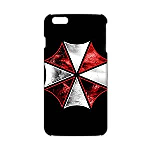 Evil-Store Red and white umbrella 3D Phone Case for iPhone 6 plus