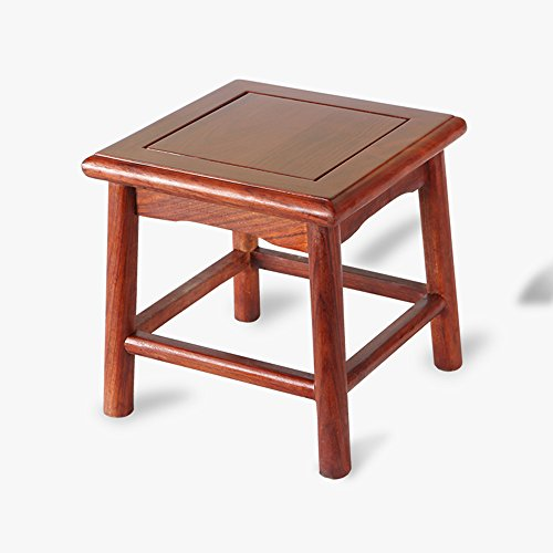 Small wooden stool / Solid wood Chinese stool / Household shoe stool / Square stool living room bench by StoolStool