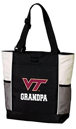 (Broad Bay Virginia Tech Grandpa Tote Bags Virginia Tech Grandpa Totes Beach Pool Or Travel)