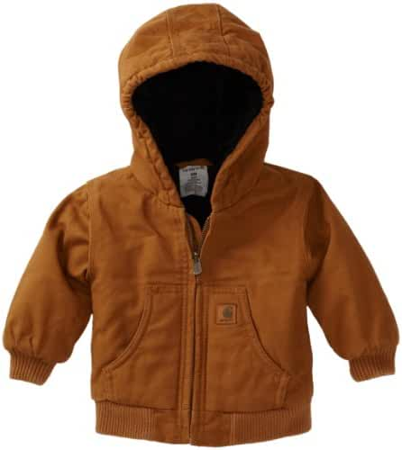 Carhartt Baby Boys' Active Quilted Flannel Lined Jacket