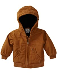 Carhartt baby-boys Baby Active Quilted Flannel Lined Jacket
