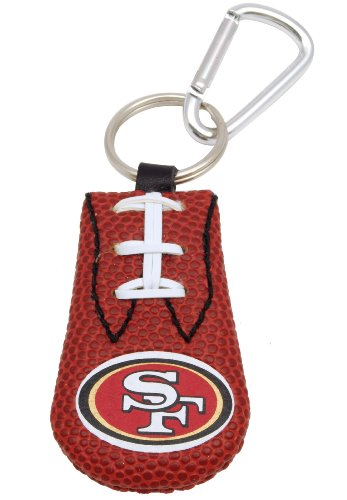 San Francisco 49ers Classic NFL Football Keychain