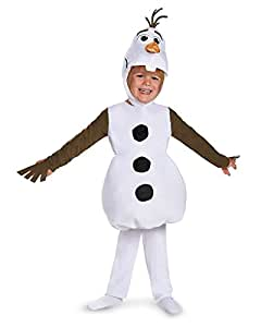 Disguise Costumes 83176L Olaf Toddler Classic Costume, Large (4-6), One Color