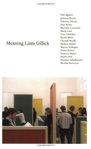 Meaning Liam Gillick (MIT Press)