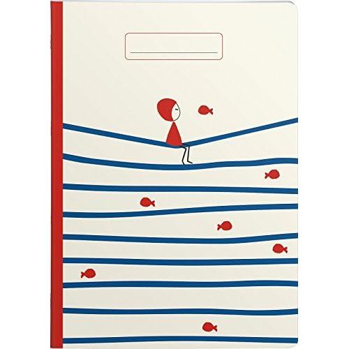 Clairefontaine Nina 83252 C – Cuaderno (A4, 96 páginas, papel de ...