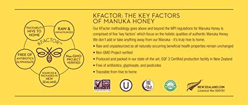 Wedderspoon Raw Premium Manuka Honey KFactor 16, 8.8 Oz, Unpasteurized, Genuine New Zealand Honey, Multi-Functional, Non-GMO Superfood by Wedderspoon (Image #5)
