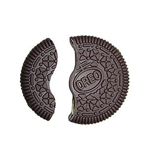 WXLAA Magic Cookie Trick Biscuit Bitten Restored Gimmick Close-Up Street Props Toys