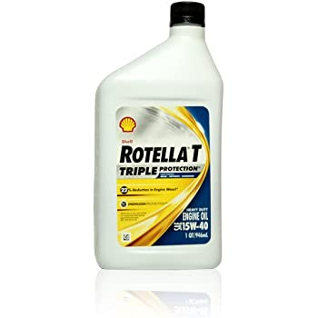 Amazon.com: Shell Rotella T6 Full Synthetic Heavy Duty ...