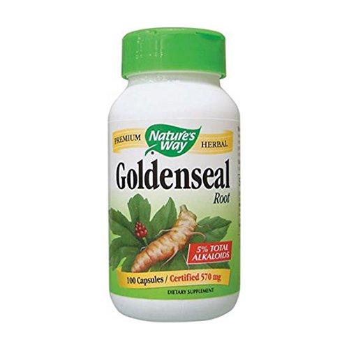 Natures Way, Goldenseal Root, 100 Capsules