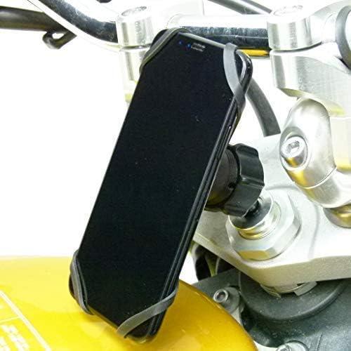 2 Pcs Black Universal 10 mm Motorcycle Bike Rear View Side Mirror Handlebar Clamp Bracket Holder Mount Adaptor JJOnlineStore