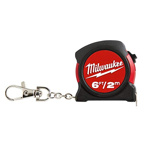 Keychain Tape Meas 6'/2m - Keychain Tape Measure