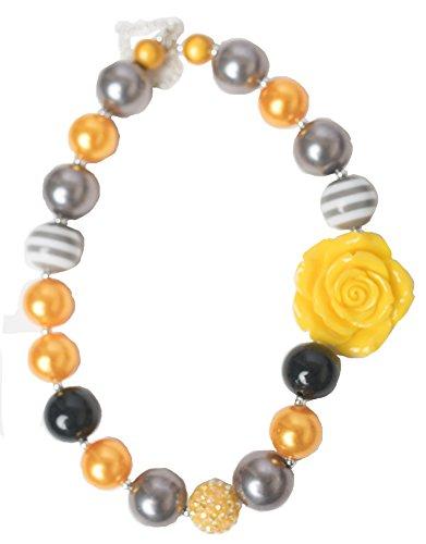 (La Bella Rose Boutique Bubblegum Necklaces (Yellow &)