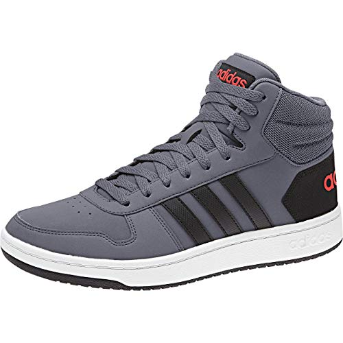 Cblack Mid Onix Hirere Basket onix Hommes Adidas Hoops Pour De 2 0 Hirere Chaussures ball Bleu 6xn7tWqnw