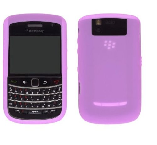 OEM PINK Blackberry Silicone Rubber Gel Skin Case Cover for Tour 9630 and Bold ()