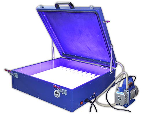 INTBUYING 110V Screen Vacuum UV Exposure Unit Hot Foil for sale  Delivered anywhere in USA