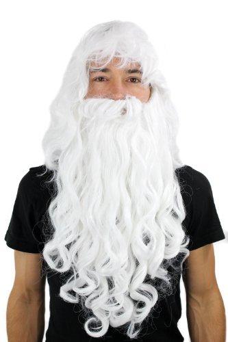 Wig me up, PW0187-P60(A250), Peluca con barba estilo Papá