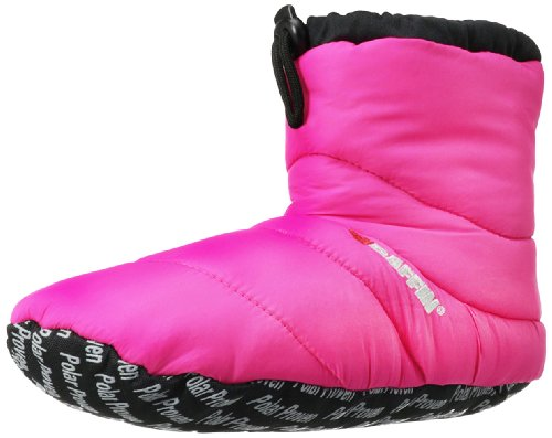 Baffin Cush Booty Slipper,Hyperberry,Large(7-8 M US Men's/9-10 M US Women's)