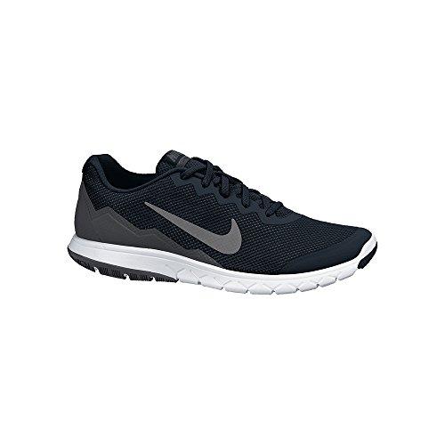 8b5e44f46fa01 Nike Men's Flex Experience RN 4 (Black/Mtlc Drk Gry/Anthracite/White)  Running Shoe, 8.5 B(M) US