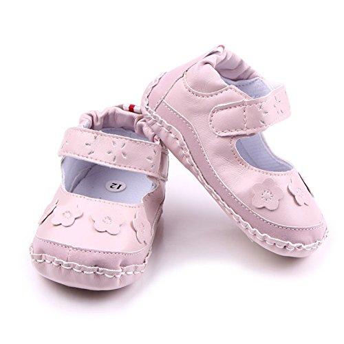 exiu bebé niña niño princesa zapatos antideslizante suave única prewalker zapatos 0–