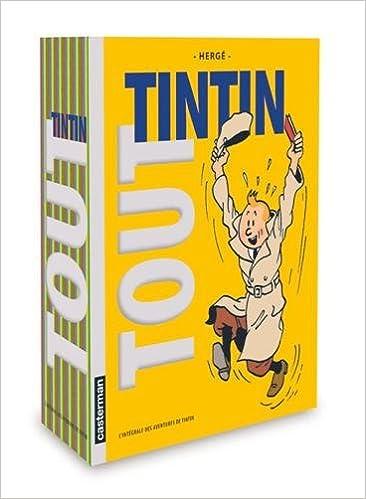 Téléchargement Tout Tintin : L'intégrale des aventures de Tintin pdf