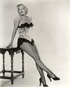 amazoncom marilyn monroe poster photo fishnet stockings
