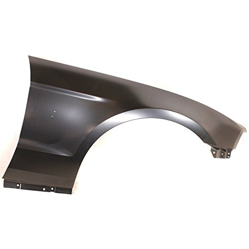 Evan-Fischer EVA169030614200 Fender for Ford Mustang 10-14 Right W/Wheel Opening Molding Holes