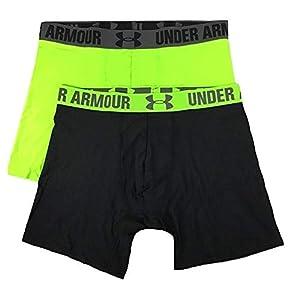 """Under Armour Men's HeatGear 6"""" Boxerjock 2 Pack"""
