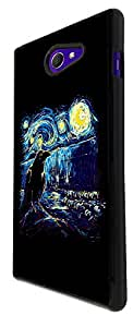 830 - Vincent Van Gogh Seagull Design For Sony Xperia M2 Fashion Trend CASE Back COVER Plastic&Thin Metal