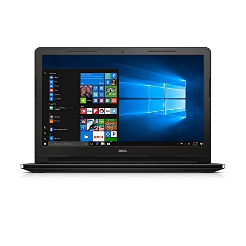 Dell Inspiron 3558 15.6-inch Laptop (5th Core i3-5005U/4GB/1TB/Windows 10/Integrated Graphics), Black with Pre-Loaded MS Office