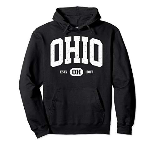 Ohio Sweatshirt Retro Vintage Ohio Hoodie Gifts OH State U