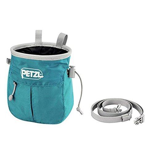 Petzl Sakapoche Chalk Bag Chalk & bags Turquoise ()