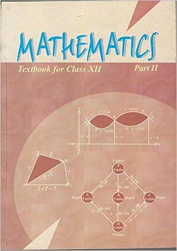 12th mathematics book ncert