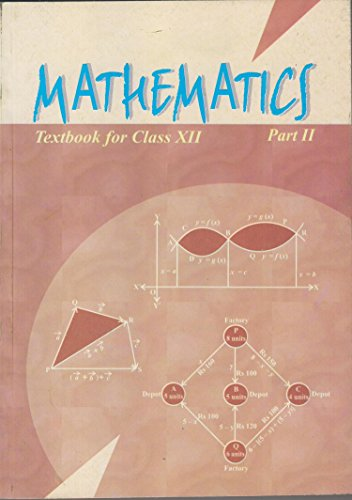 Mathematics Textbook for Class 12 Part - 2 - 12080