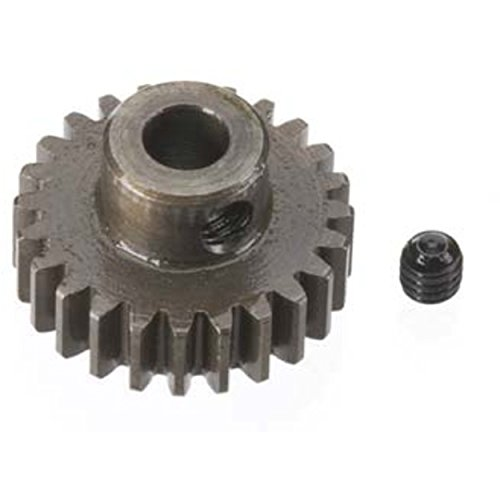 Robinson Racing Products 8724 Hard Bore 0.8 Module Pinion Gear 24T, 5mm