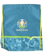 Euro 2020 Unisex Jeugd Gym Sack, Turkoois, One Size