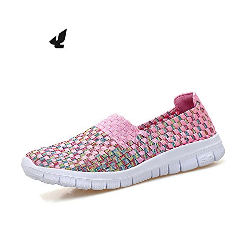 2018 platform sandals 712 Loafers Flats 712 flat Ballet Breathable Flat Flats Women Light Summer Pink women Flats Loft shoes New Uqt4IYw4