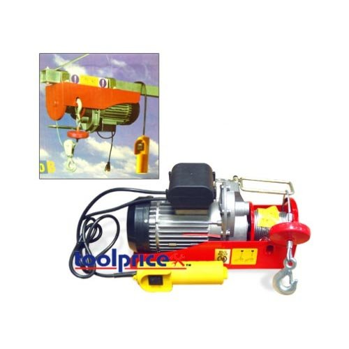 120 Volt Winch >> Electric Cable Hoist Winch 660 1320 Pound Material Handling Authority