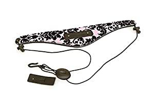 Beaumont Pink Lace Neck Strap for Clarinet, Saxophone (light alto and soprano), Oboe and English Horn