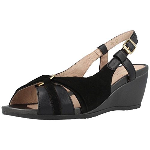 Sandalias y chanclas para mujer, color Negro , marca STONEFLY, modelo Sandalias Y Chanclas Para Mujer STONEFLY SWEET II Negro Negro