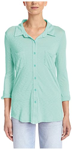 Splendid Women's Knit Shirt, Surf Spray, S
