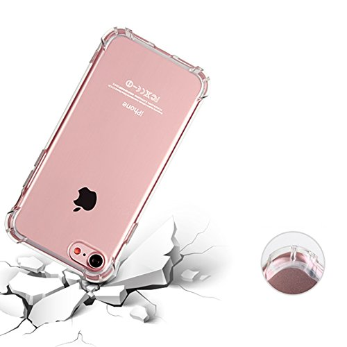 iPhone 6 Plus court case iPhone 6S Plus court case Ibarbe slim clear TPU Protective Heavy task court case accommodate for Apple iPhone 6 Plus 2014 6S Plus2015 55 inch Pink Vehicle Mounts