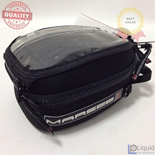 Marsee 1.5 Liter Bullet Bag with 4 Hole- No Mounting, Universal Fit motorcycle luggage (MAR-1.5BT)