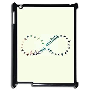 [QiongMai Phone Case] For Ipad 2/3/4 Case -Hukuna Matata Quotes-IKAI0448370